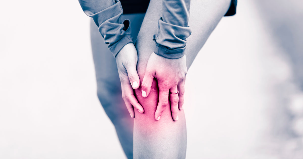 Knee joint pain