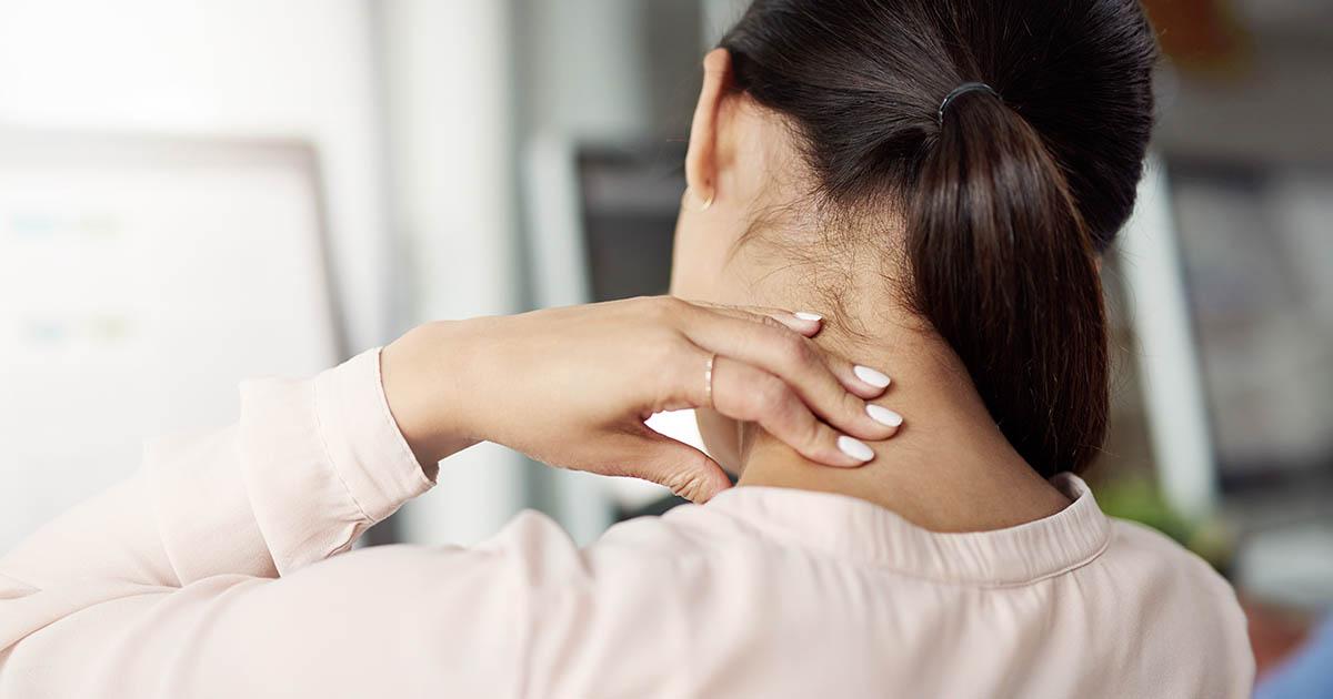 oman experiencing neck stiffness